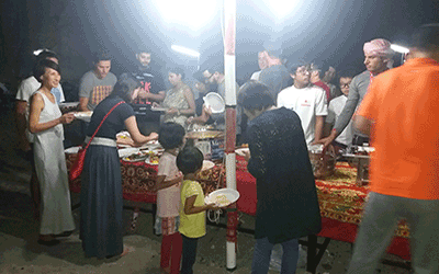 Organizing Parties In Khasab