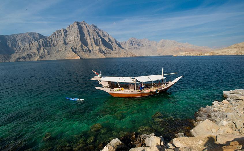 Oman Dhow cruise - Khasab Musandam Dhow Cruise 2