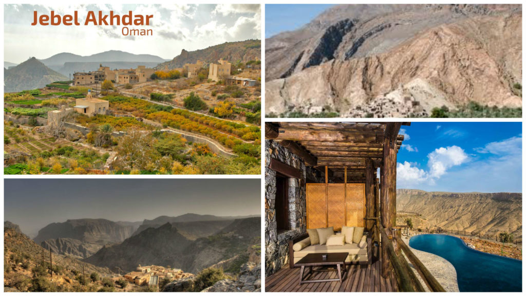 Jebel Akhdar oman (top 10 tourist destinations in oman)