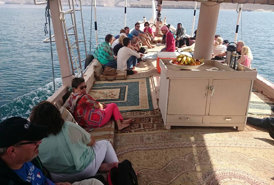 Musandam Dhow Boat trip